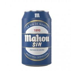 Mahou sin alcohol 33cl