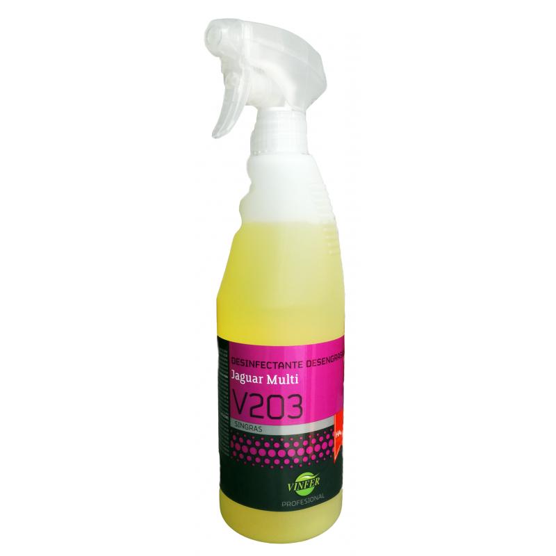 Desinfectante Desengrasante v203 Jaguar
