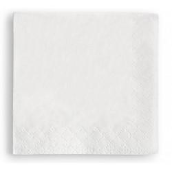 Servilleta blanca 30x30