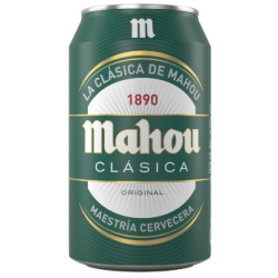 Mahou Clásica Lata 33 CL 24...